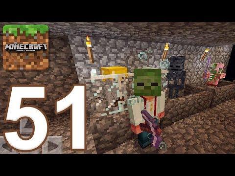Minecraft: Pocket Edition - Gameplay Walkthrough Part 51 - Survival (iOS, Android)