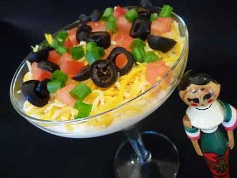 Seven Layer Dip Mexican Recipe