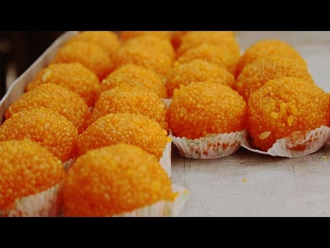 Boondi Laddu in Telugu | Ladoo Recipe by Maa Vantagadi (బూంది లడ్డు)