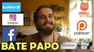 Um leve bate-papo (próximo vídeo e redes sociais)! | Canal do Slow