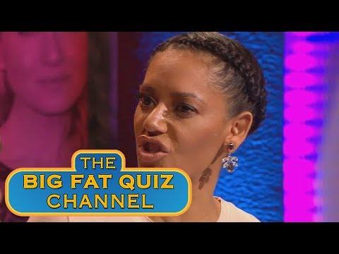 Mel B Answers Wrong   Big fat Quiz of the Year 2014