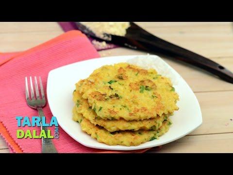 ભાત નl પૂડલા Bhaat na Poodla (Recipe in Gujarati) by Tarla Dalal