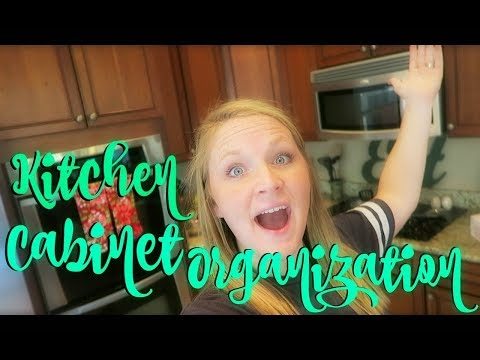 WHAT IS IN MY KITCHEN CABINETS | CABINET ORGANIZATION