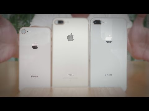 Unboxing iPhone 8 Plus Silver: New Display, Camera Features & Geekbench Score Comparison