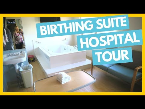 Birthing Suite Hospital Tour 🏥 Getting Ready for Birth! 🤰Full Time RV Family