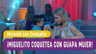 ¡Miguelito coquetea con guapa mujer! - Morandé con Compañía 2017
