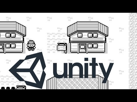 Pokemon Red In Unity 2017!? Part 1- Setup And Gridbased Movement!