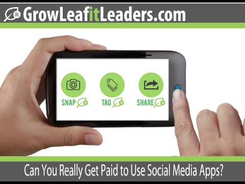 Make Money Now With the Leafit Social Media App
