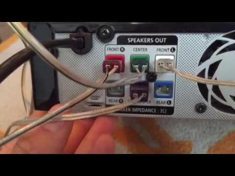 Setting up Samsung surround sound