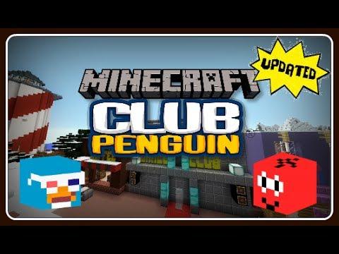 Club Penguin in Minecraft Updated!