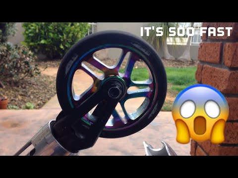 How To Make Your Scooter Wheel Spin Faster Life Hack
