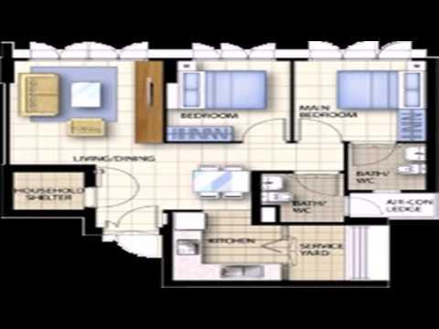 Floor Plan 3 Room Hdb Flat