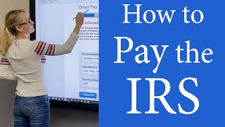 How to pay the IRS online.  Pay income taxes. Pay the IRS taxes online, by mail. Pay 1040 online