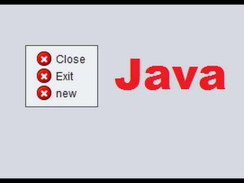 Java prog#151. How to use JPopupMenu (Right mouse click) in Java Netbeans
