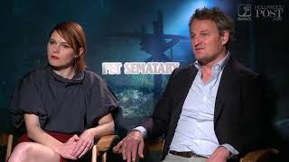 Download Digging into #PetSematary with Stars Amy Seimetz and Jason Clarke Video