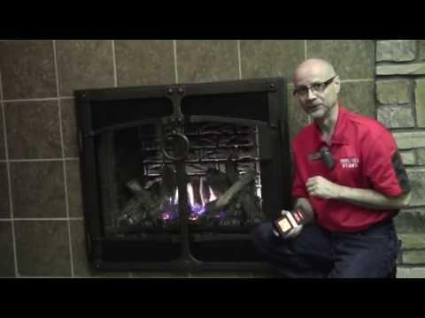 864 High Output Gas Fireplace