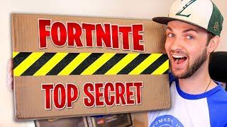 EPIC GAMES sent me a *SECRET* FORTNITE package!
