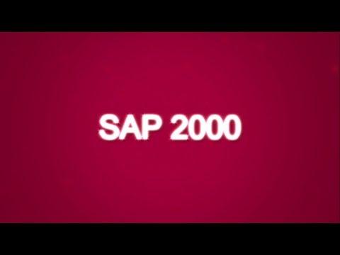 SAP 2000 Tutorial