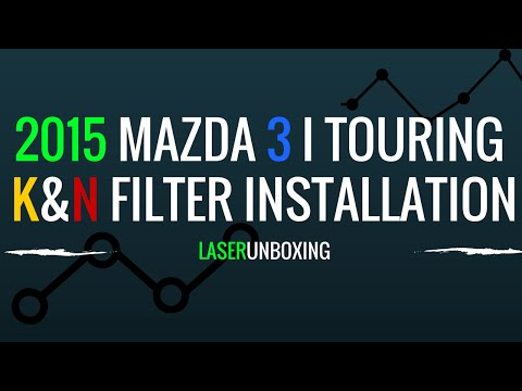 2015 Mazda 3 i Touring - K&N Air Filter Install