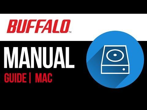 Buffalo external hard drive Set Up Guide for Mac 2019