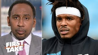 'I've been losing faith in Cam Newton' – Stephen A.   First Take