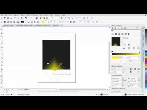 CorelDRAW® Graphics Suite X7 - New control over fills and transparency