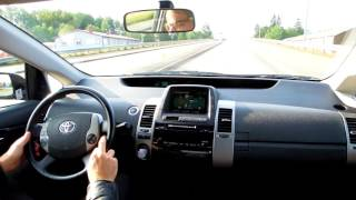Driving a Toyota Prius Hybrid 1.5 2008