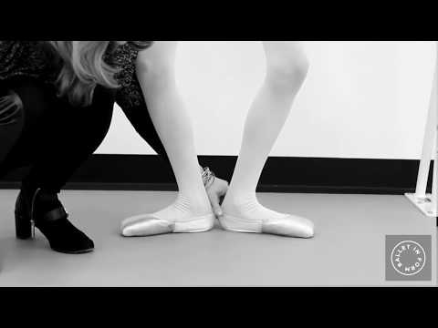 Pointe Shoes and Beginners - What to Expect 1st Time Pointe Shoe Fitting with Ballet In Form