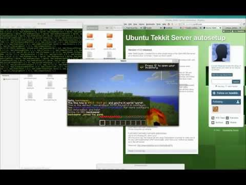How to set up a Tekkit Server and Client on Ubuntu Linux 12.04 without port forwarding