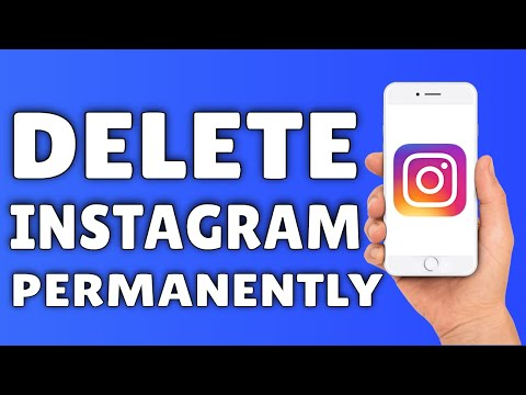 How To DELETE Instagram Account | How To Delete Your Instagram Account PERMANENTLY