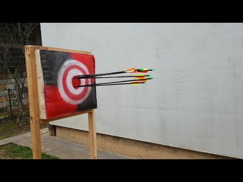 How To Make Archery Target from Scrap Materials- Easy and  Cheap