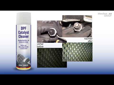 Catalytic converter DPF foam best cleaner made in germany