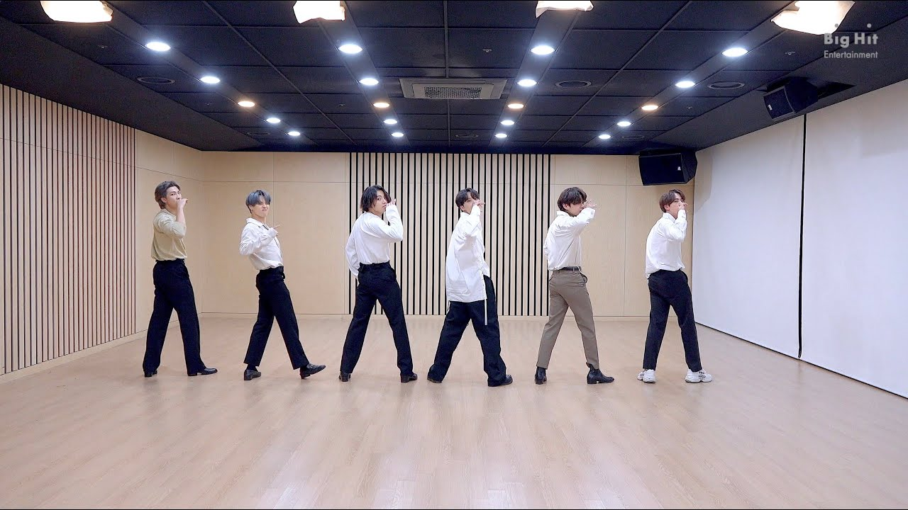 [CHOREOGRAPHY] BTS (방탄소년단) 2020 MMA 'Dynamite' Dance Break Practice
