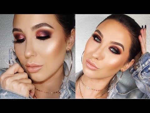 Rose Gold & Purple Smokey Eye | Jaclyn Hill