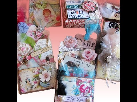 How to Make Paper Bag Gift Card Holder - Journal/Album Pocket Page