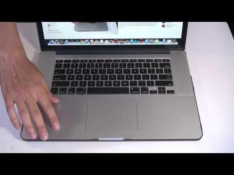 Moshi PalmGuard 15 (Retina) with Trackpad Protector