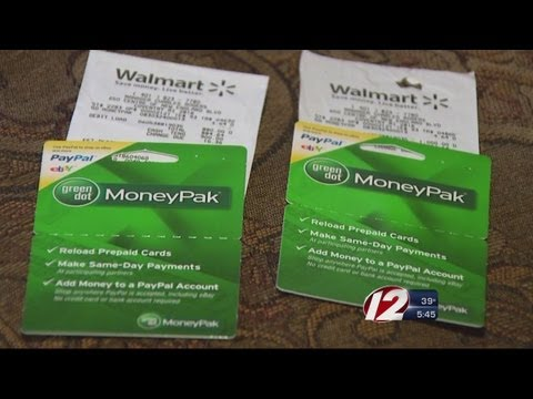 Scammers Utilizing Reloadable Debit Cards