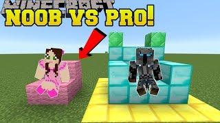 Minecraft: NOOB VS PRO!!! - BUILD BATTLE!! - Mini-Game
