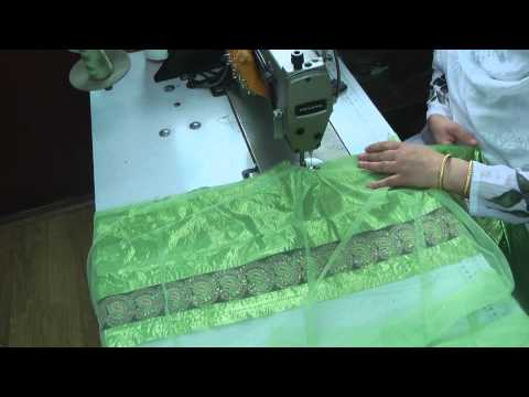 skirt and lining sewing