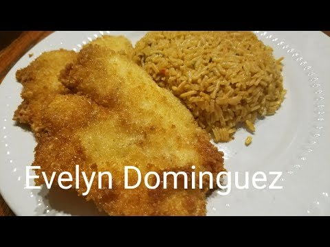 Breaded Tilapia Fish