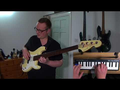 Lowes - 'Awake At Night' live instrumental piano & fretless bass version by Nick Latham