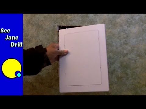How to Install an Access Panel in a Wall
