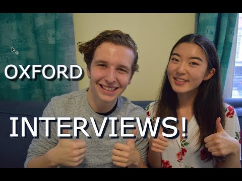 OXFORD INTERVIEW EXPERIENCE!!! (with Helen Lily)