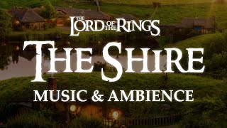 Lord of the Rings | The Shire, Remastered Music & Ambience - Sunset at Bag End
