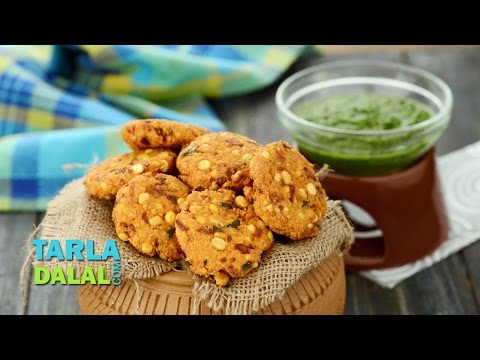 Dal Vada, South Indian Chana Dal Vada, Masala Vada by Tarla Dalal