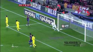 FC Barcelona vs Villarreal 1-1 HD [2/01/10] Full Highlights and Goals