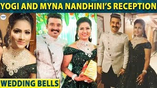 Myna Nandhini's Marriage Reception Video   Yogi   Nandhini   LittleTalks