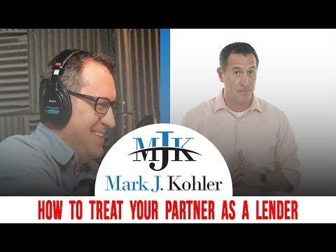 How to Treat Your Partner as a Lender | Mark J Kohler | Tax and Legal Tip