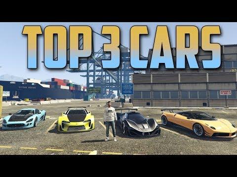 MY TOP 3 CARS IN GTA 5 ONLINE