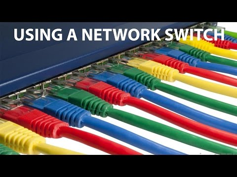 How to split an ethernet connection